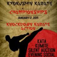 SAVE THE DATE:  JANUARY 17, 2015.  Banff Kyokushin Karate Championshipsº