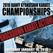 2016 Full Details: Banff Kyokushin Karate Championships