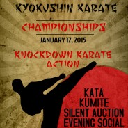 SAVE THE DATE:  JANUARY 17, 2015.  Banff Kyokushin Karate Championshipsº
