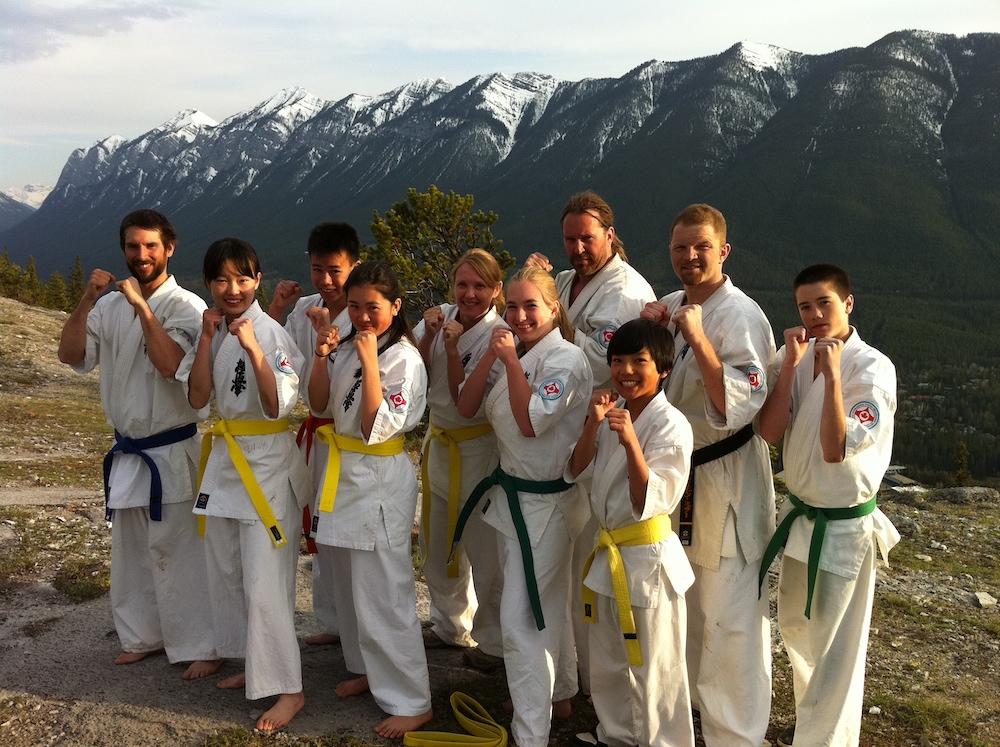 adults karate banff
